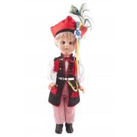 Krakowiak 40 cm chłopiec lalka polska