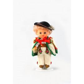 Doll boy in Tatra mountain dress 16 cm.