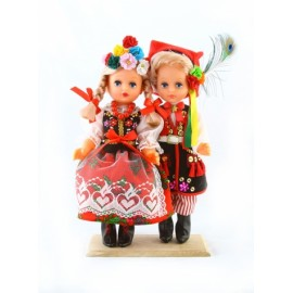 Dolls inKraków folk outfits 30 cm